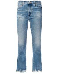 AG Jeans - Jodi Cropped Jeans - Lyst