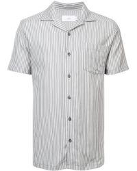 Onia - Striped Short Sleeve Shirt - Lyst