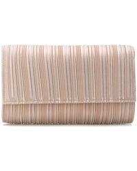 Casadei - Pleated Clutch Bag - Lyst
