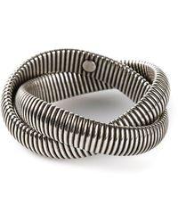Janis Savitt | Twist 'cobra' Bracelet | Lyst