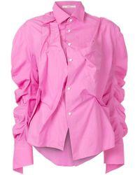 Aganovich - Colour-block T-shirt - Lyst