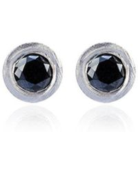 Jelena Behrend - 14k Gold Bullet Black Diamond Stud Earrings - Lyst