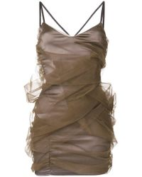 Y. Project - Tulle Wrapped Mini Dress - Lyst