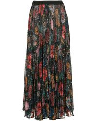 Romance Was Born - Wildflower Pleat Skirt - Lyst