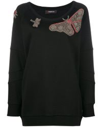 Jo No Fui - Butterfly Embroidered Knitted Top - Lyst