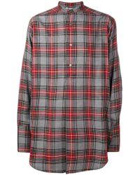 Stella McCartney - Tartan Check Embroidered Shirt - Lyst