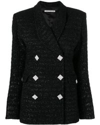 Alessandra Rich - Buttoned Jacket - Lyst