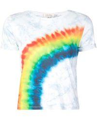 Alice + Olivia - Rainbow Print T-shirt - Lyst