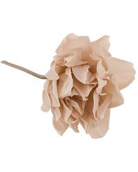 Erika Cavallini Semi Couture - Floral Brooch - Lyst
