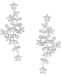 DSquared² - Crystal Vine And Star Earrings - Lyst