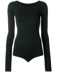 Rick Owens Lilies - Fitted Round Neck Body - Lyst
