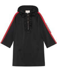 Gucci - Hooded Jersey Dress - Lyst