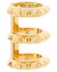 Kasun - Triple Croc Earcuff - Lyst
