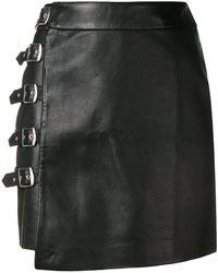 Zoe Karssen - Buckled Mini Skirt - Lyst