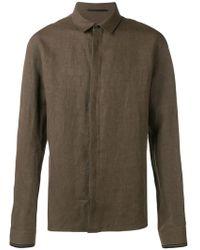 Haider Ackermann - Classic Concealed Button Shirt - Lyst