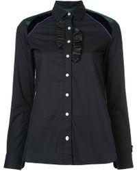 Kolor - Frill Detail Shirt - Lyst