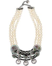 Camila Klein - Conceito Embellished Necklace - Lyst
