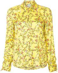 Baum und Pferdgarten - Floral Print Shirt - Lyst