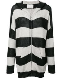 Laneus - Striped Cardigan - Lyst