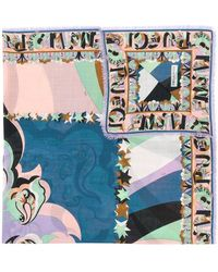 Emilio Pucci - Abstract Stars Print Scarf - Lyst