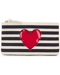 Boutique Moschino - Striped Clutch Bag - Lyst