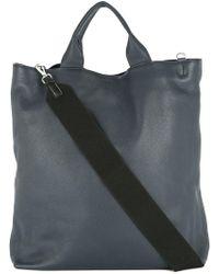 Jil Sander - Oversized Tote Bag - Lyst