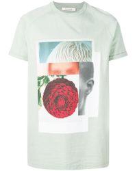 Cedric Charlier - Printed T-shirt - Lyst