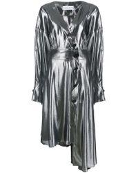 Wanda Nylon | Asymmetric Button-up Dress | Lyst