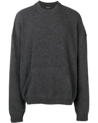 Andrea Ya'aqov - Oversized Crew Neck Sweater - Lyst