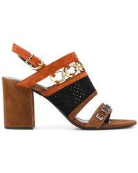 Barbara Bui - Chain Detail Sandals - Lyst