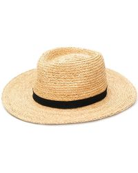 Bellerose - Woven Hat - Lyst