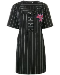 Love Moschino - Sequin Embellished T-shirt Dress - Lyst