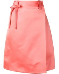 Prada Silk Wrap Skirt