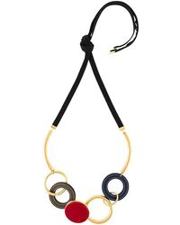 Marni - Circular Pendant Necklace - Lyst