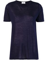 Allude - Short-sleeved T-shirt - Lyst