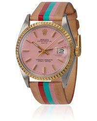 La Californienne - Rolex Tt La Cruz Strap Watch - Lyst