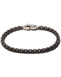 David Yurman - Box Chain Bracelet - Lyst