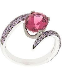 Shaun Leane - Aurora Tormaline And Sapphires Ring - Lyst