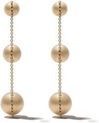 Tiffany & Co. 18kt yellow gold Tiffany City HardWear triple drop earrings - Metallic U3uH5