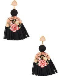 Lizzie Fortunato - Dolce Vita Fringed Earrings - Lyst