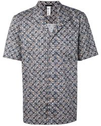 La Perla - Geometric Printed Progetto Shirt - Lyst