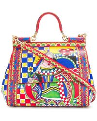 Dolce & Gabbana | Sicily Printed Tote | Lyst