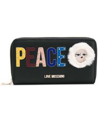 Love Moschino - Peace Logo Wallet - Lyst