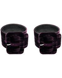 Attico - Belt Buckle Cuff Bracelet - Lyst