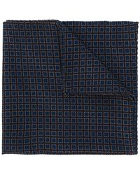 Lardini | Small Squares Print Pocket Square | Lyst