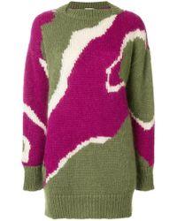 Wunderkind Patterned Oversized Sweater