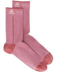 adidas By Stella McCartney Носки Из Ткани Пике - Розовый