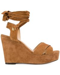 Tila March - Cancun Wedge Sandals - Lyst