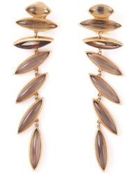 Antonio Bernardo - 18kt Yellow Gold 'wing' Clip-on Earrings - Lyst