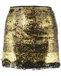 Redemption - Sequined Mini Skirt - Lyst